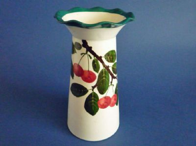 Rare Wemyss Ware 'Cherries' Grosvenor Vase c1900
